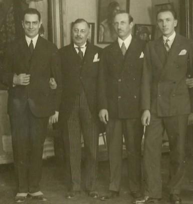 M. Vulcanescu, D. Gusti, Vladescu-Racoasa, H.H. Stahl