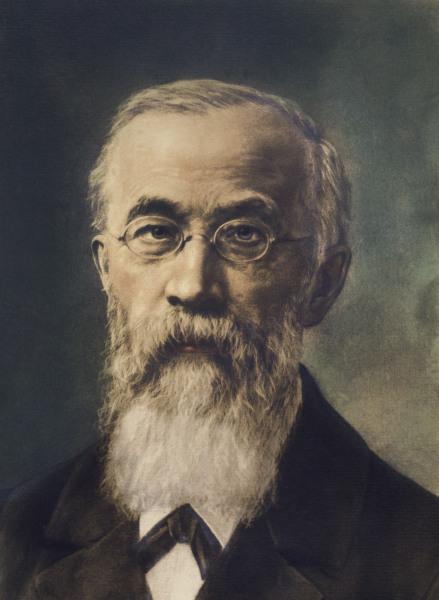 Wilhelm Wundt / Gemaelde nach Fotografie - Wilhelm Wundt / Painting after photo -