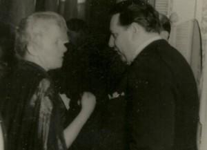 Alice Voinescu si Mircea Vulcanescu (1941).