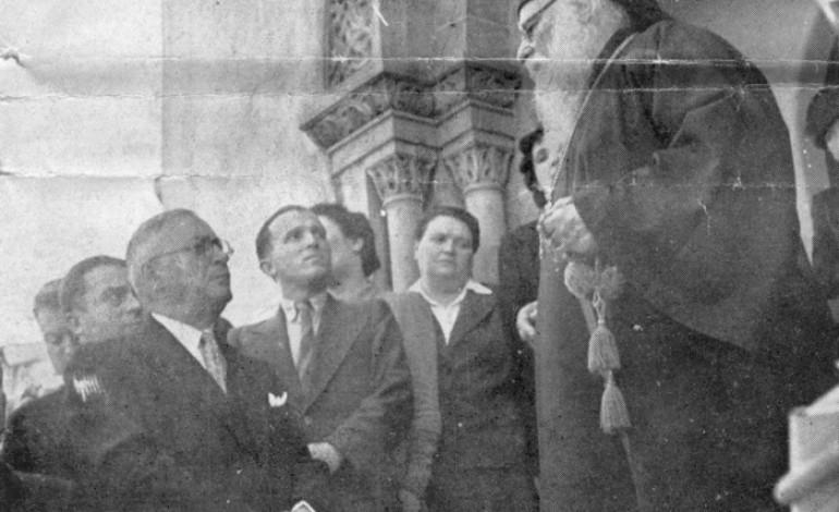 Vizita Patriarhului Nicodim la Serviciul Social (1939)