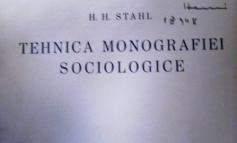 Petru Manoliu: o carte de H. H. Stahl