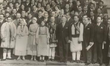 Festivitatea de la Poiana Câmpina. Închiderea cursurilor școalei superioare țărănești