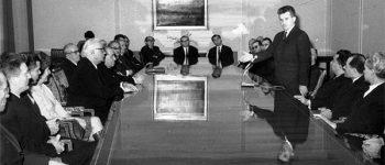 Intelectualii în capcana ceauşismului. Înfiinţarea Academiei de Știinţe Sociale şi Politice