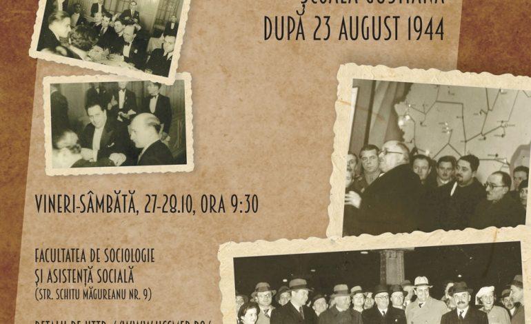 """Conferința """"Școala Gustiană după 23 august 1944. Condamnare, marginalizare și supraviețuire în regimul comunist"""""""
