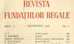"""Petru Comarnescu: Misiunea socială a Fundației """"Principele Carol"""""""