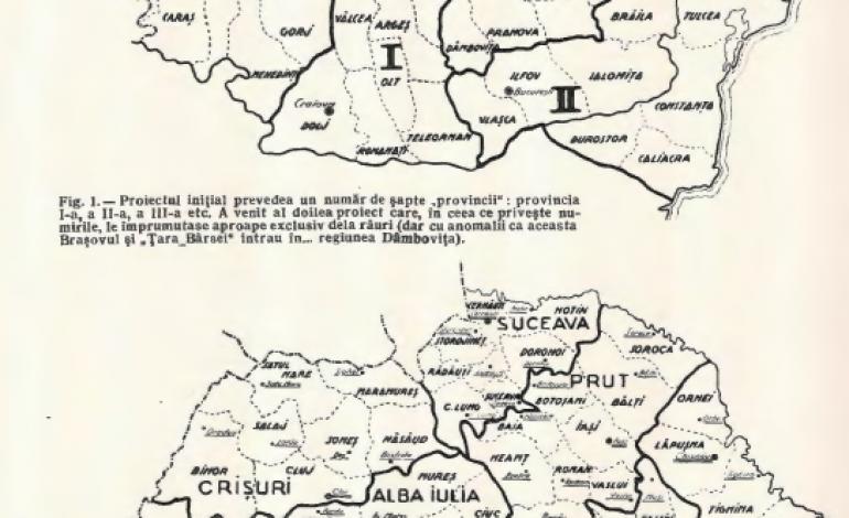 Harta sociologica a Olteniei. E cu putinta o inventariere cartografica a starilor si problemelor Tinutului Olt? (1940)