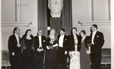 Gusti - invitatul mamei presedintelui Roosevelt