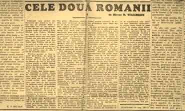 """""""Cele două Românii"""": originile și contextul unei formule controversate"""
