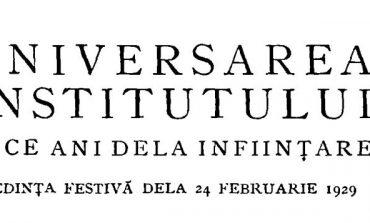 Zece ani de existenţăa Institutului Social Român; Două concepții despre Academie